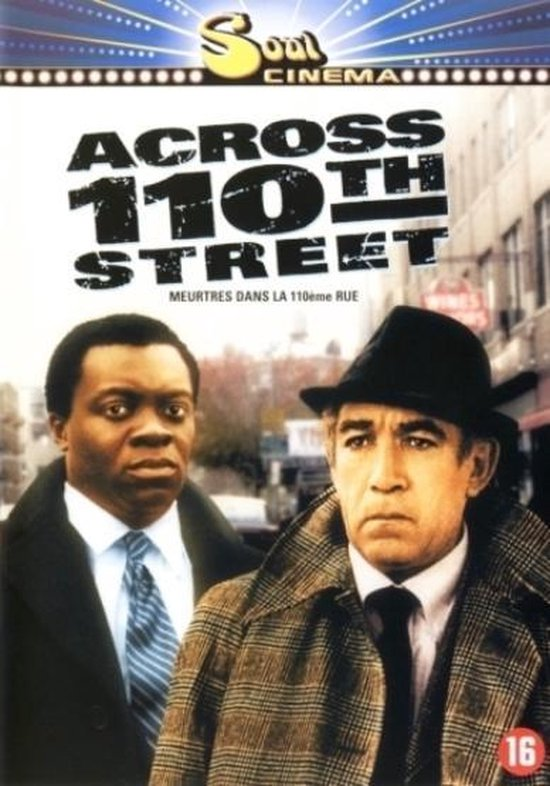 Cover van de film 'Across 110th Street'