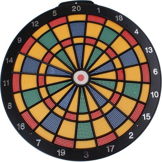Afbeelding van het spel Lg-imports Dartbord Safty 40 Cm Met 6 Pijlen