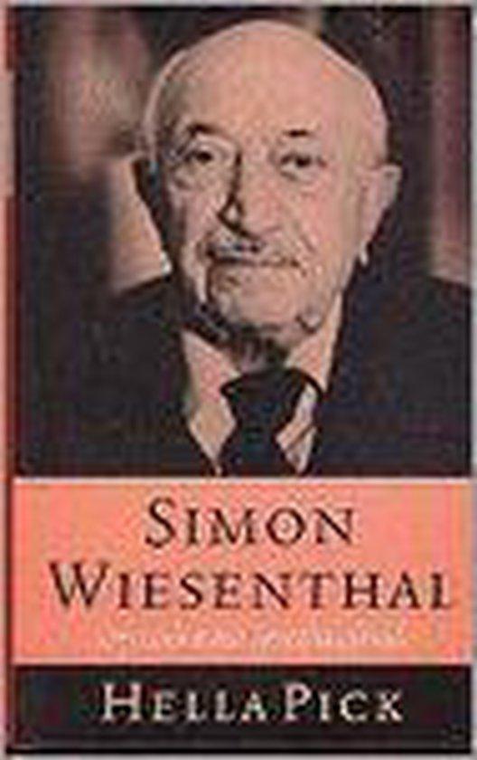 Wiesenthal op zoek naar gerechtigheid - Hella Pick  