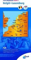 Wegenkaart 2. België/Luxemburg