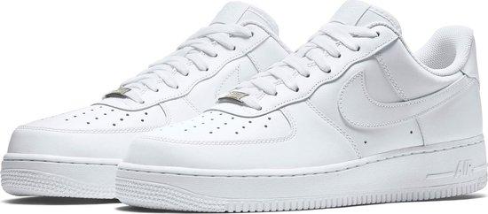 Nike Air Force 1 '07 - Sneakers - Wit - Heren - Maat 42 ...