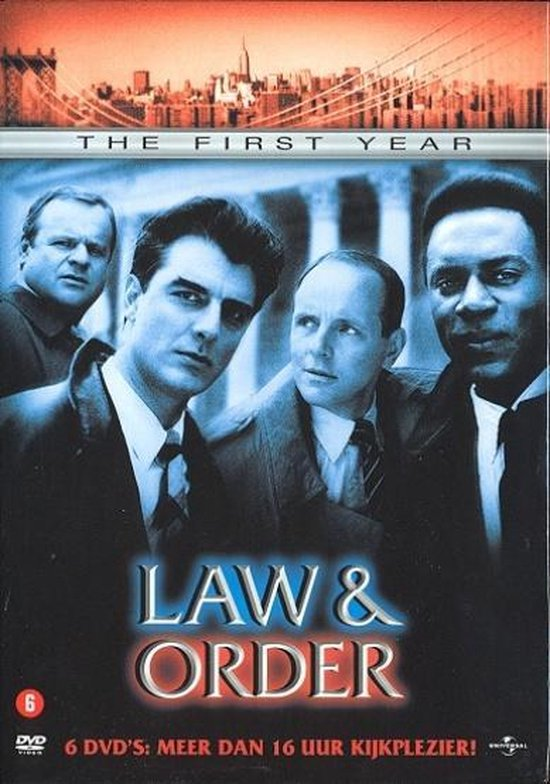 Cover van de film 'Law & Order'