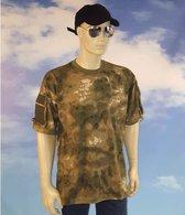 Soldaten shirt camouflage voor heren 2XL
