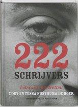 Boek cover 222 Schrijvers van Eddy Posthuma de Boer