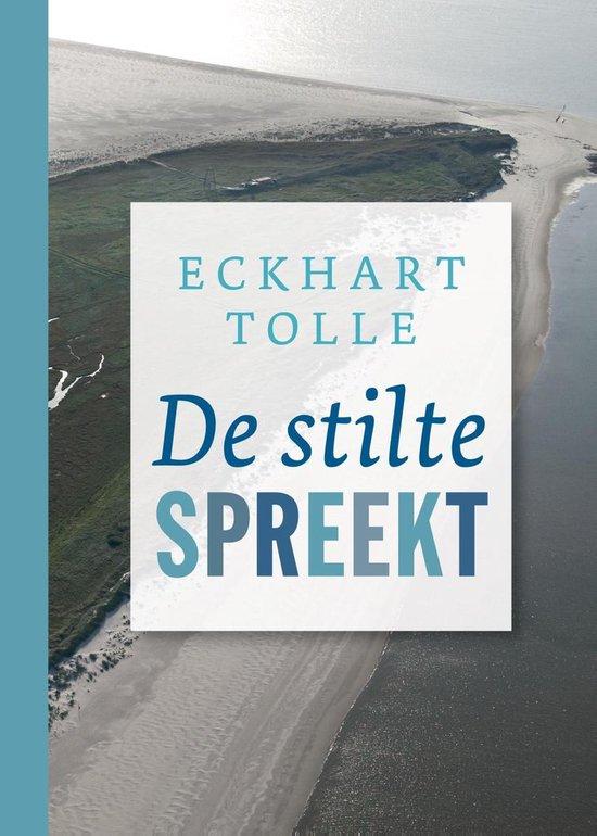 Boek cover De stilte spreekt van Eckhart Tolle