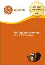 Aandacht voor Rekenen - Oefenboek Rekenen Groep 3 - 2e helft schooljaar