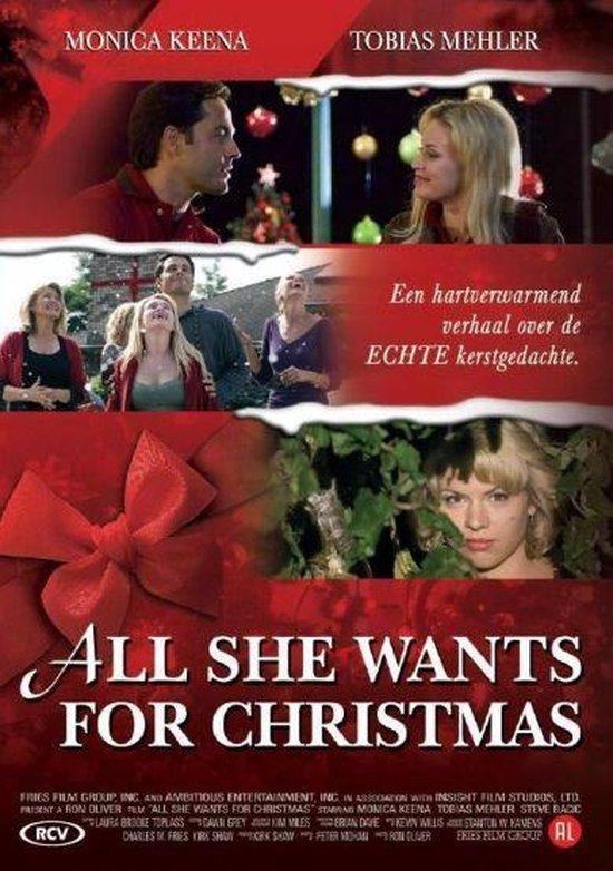 Cover van de film 'All She Wants For Christmas'