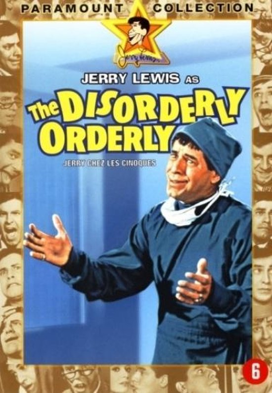 Cover van de film 'Disorderly Orderly'