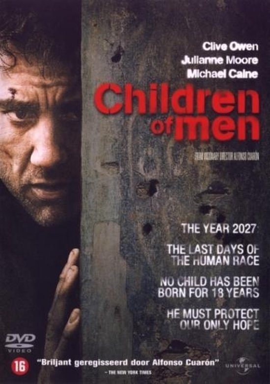 Cover van de film 'Children Of Men'
