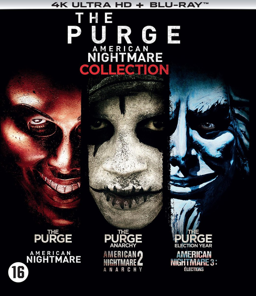 The Purge - 1 t/m 3 Boxset (4K Ultra HD Blu-ray)-