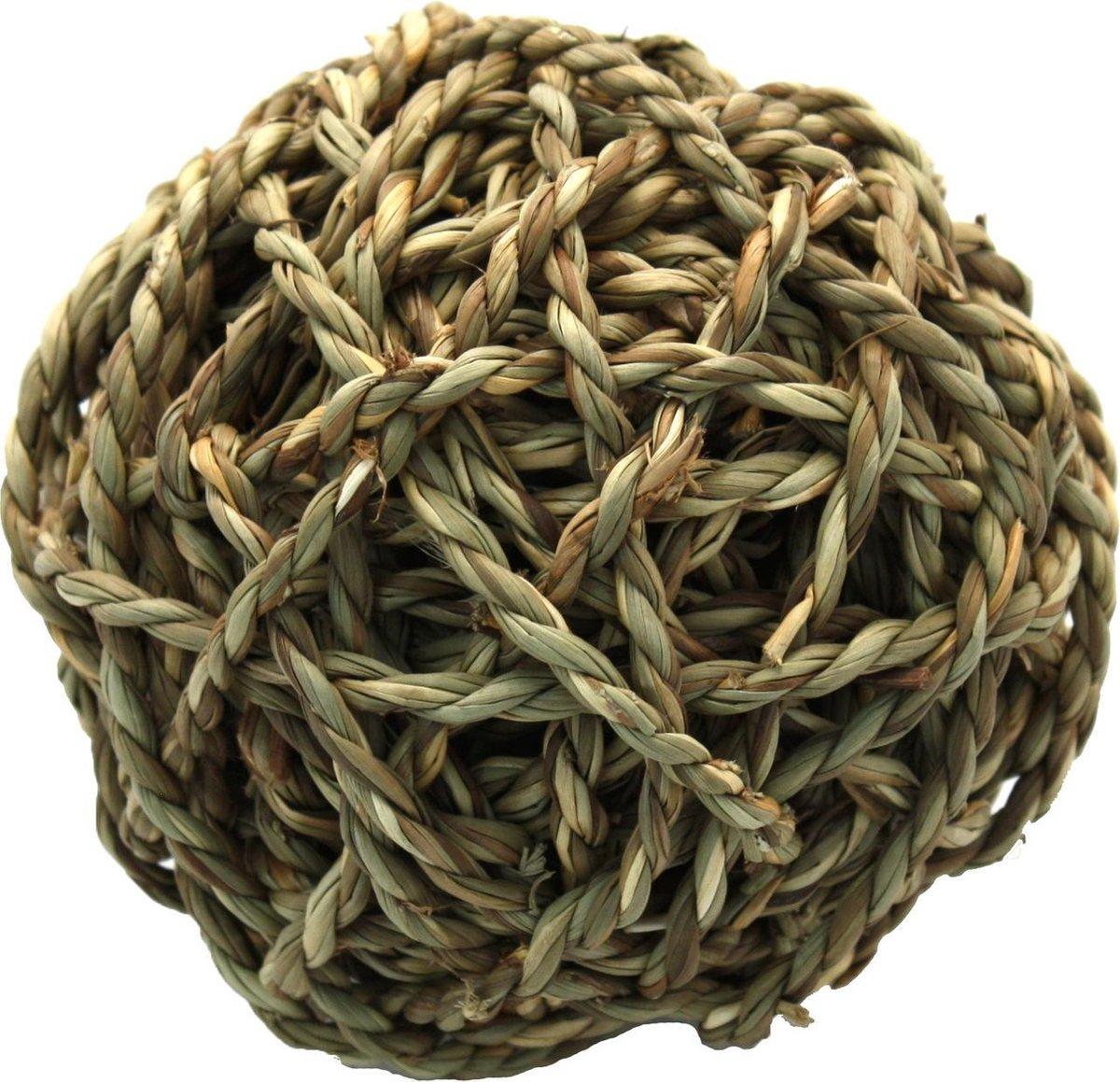 Happy Pet Grassy Ball - Knaagbal - 11 x 11 x 11 cm - Happy Pet
