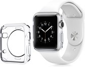 Apple iWatch - 38mm - volledig transparant zacht siliconen hoesje