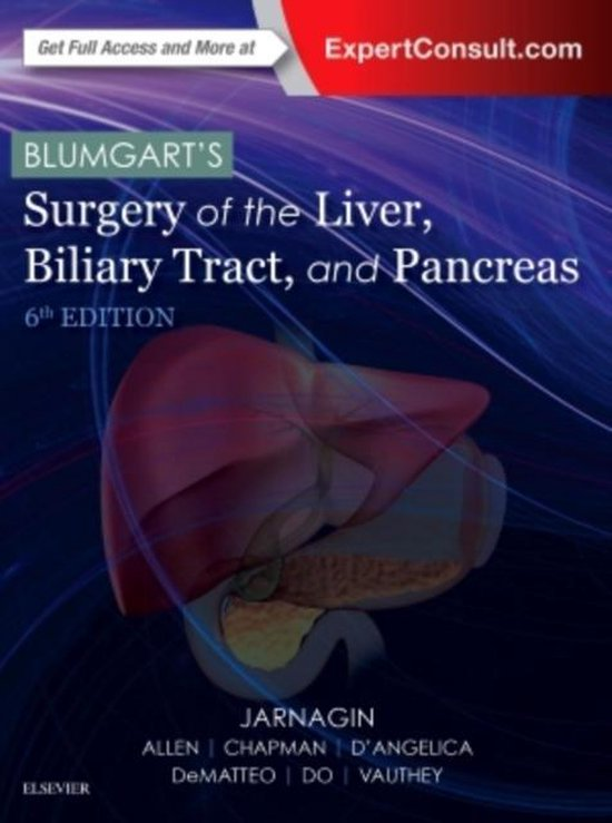 Blumgart's Surgery of the Liver, Biliary Tract and Pancreas, 2-Volume Set