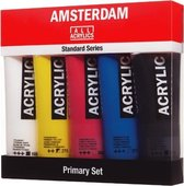 Amsterdam acrylverfset met 5 tubes  120ml