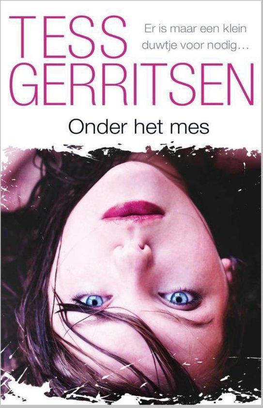 Cover van het boek 'Onder het mes'