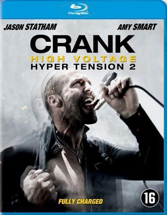 Cover van de film 'Crank 2 - High Voltage'