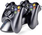 Speedlink Dubbel Docking Station  - Zwart (Xbox 360)