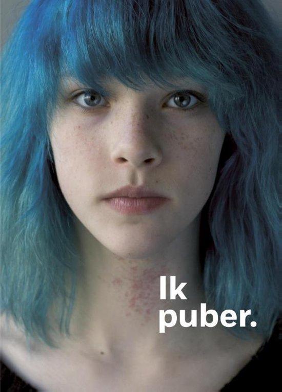Boek cover Ik puber. van Mariëtte Wijne (Paperback)
