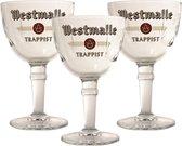 Westmalle Bierglas - 33cl (Set van 3)