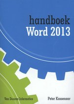 Handboek  -  Handboek Word 2013 2013