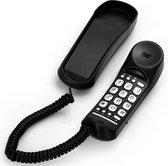 Profoon TX-105 Eenvoudige bedrade telefoon - Geschikt om neer te zetten - Zwart