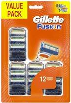 Gillette Fusion - 12 stuks - Scheermesjes
