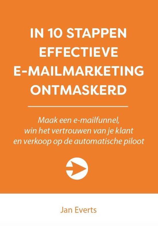 10 stappen boekenserie - In 10 stappen effectieve e-mailmarketing ontmaskerd - Jan Everts | Readingchampions.org.uk