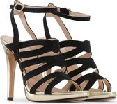 Made in Italia - Sandalen - Vrouw - CLEO - black,gold
