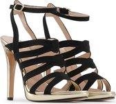 Made in Italia - Sandalen - Vrouw - CLEO - black,gold