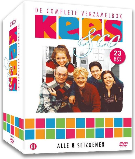 Kees & Co - De Complete verzamelbox - Seizoen 1 t/m 8 -