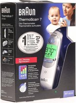 Braun ThermoScan 7 - Thermometer - Wit