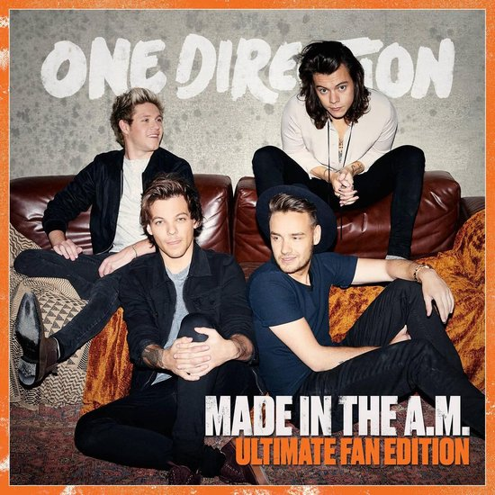CD cover van Made In The A.M.  (Ultimate Fan Edition) van One Direction