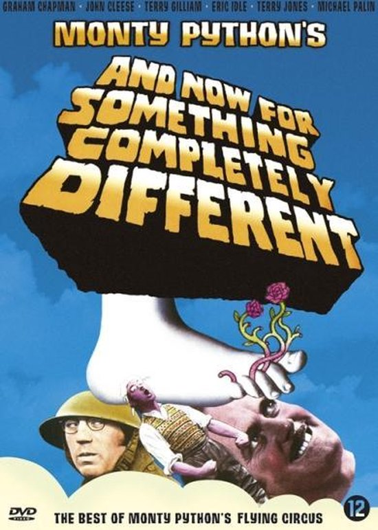 Cover van de film 'And Now for Something Completely Different'