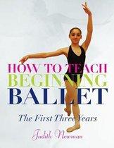Afbeelding van How to Teach Beginning Ballet