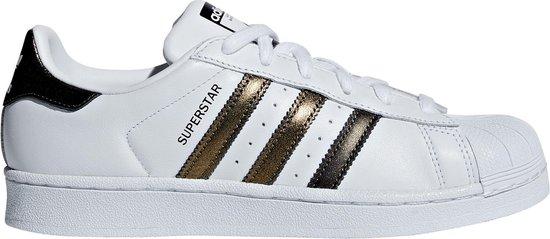 adidas Superstar Sneakers - Maat 40 2/3 - Vrouwen - wit/goud