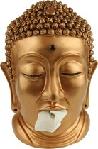 Rotary Hero Boeddha - Tissue box Houder - Brons