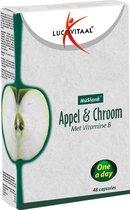 Lucovitaal NuSlank Afslanksupplement - Appel & Chroom - 48 capsules