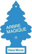Arbre Magique Luchtverfrisser 12 X 7 Cm Fresh Water  Blauw