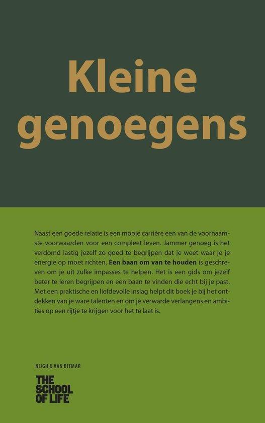Kleine genoegens - The School of Life  