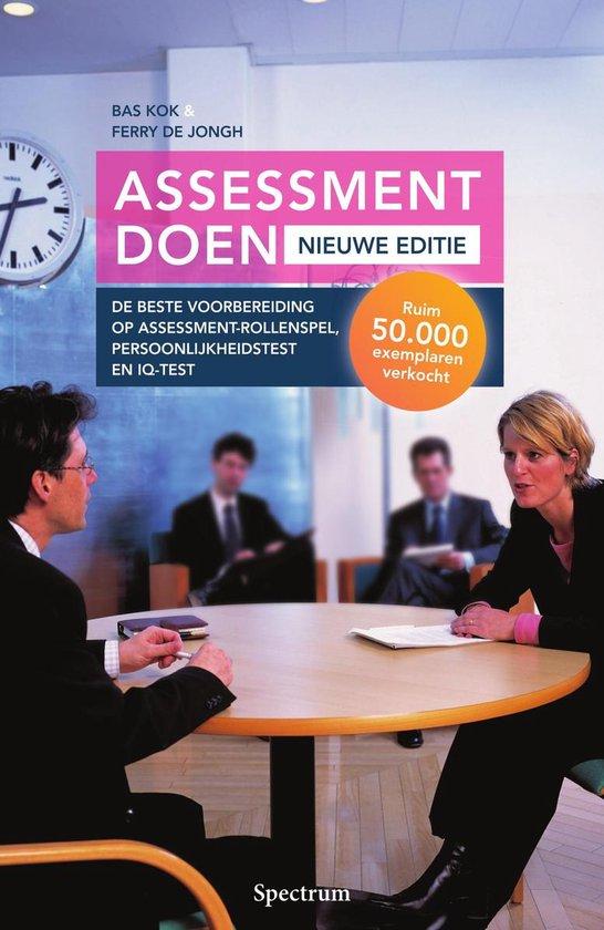 Assessment doen - nieuwe editie - Bas Kok | Fthsonline.com