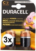 Duracell batterijen CR/LR14 6 stuks
