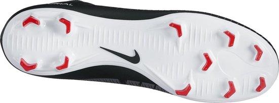 Nike Mercurial Victory VI DF FG Jr Voetbalschoenen - Kids - Maat 35,5 - Zwart-wit-rood