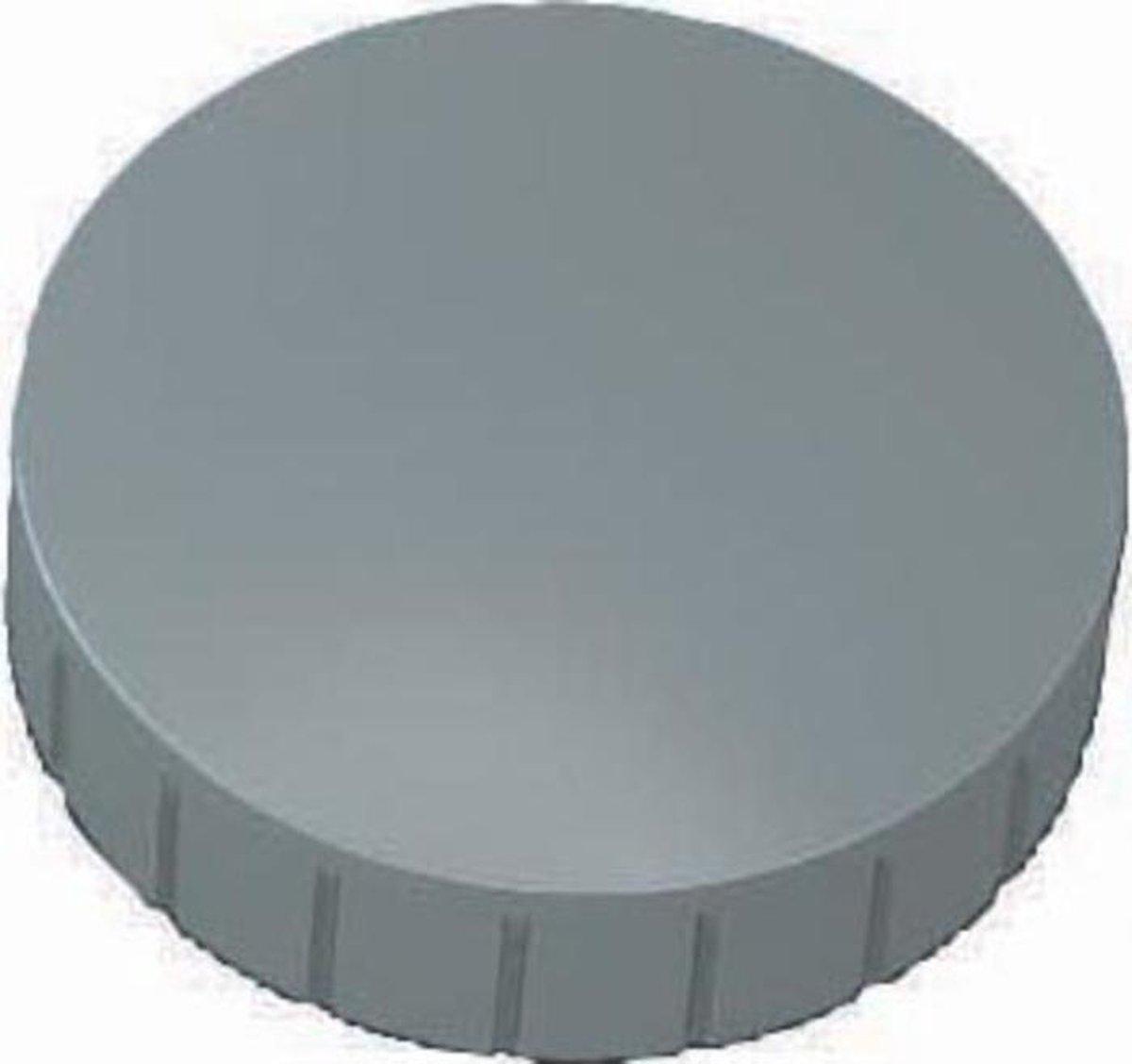 Maul Solid Magneet, 38 mm, Grijs, set van 10 stuks