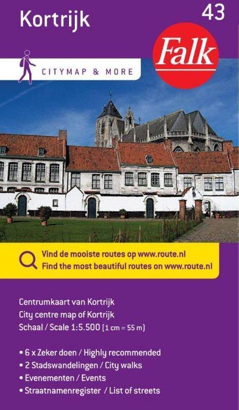 Falk citymap & more 43 - Kortrijk
