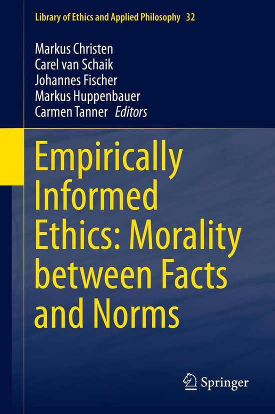 Boek cover Empirically Informed Ethics: Morality between Facts and Norms van  (Onbekend)
