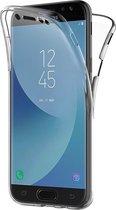 Samsung Galaxy J5 (2017) - Edged siliconen gel TPU Case hoesje + screenprotector - 0.5mm