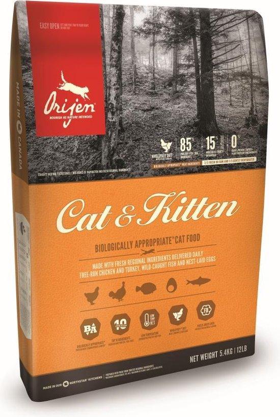 Orijen Cat & Kitten - 5,4 kg
