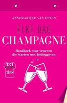 Elke dag champagne