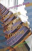 Poems verses words of rhyme