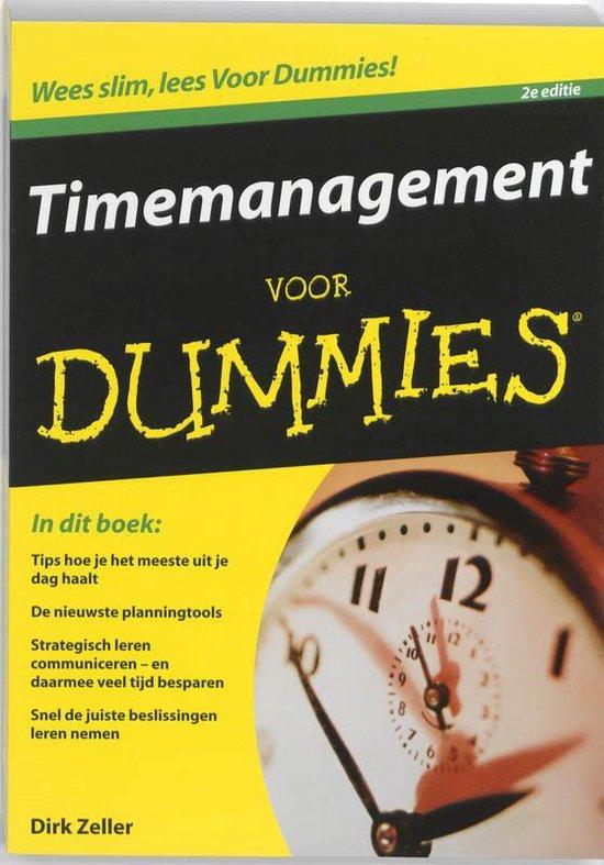 Timemanagement Voor Dummies - Dirk Zeller |